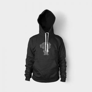 Sweatshirt Ninja Silhouette