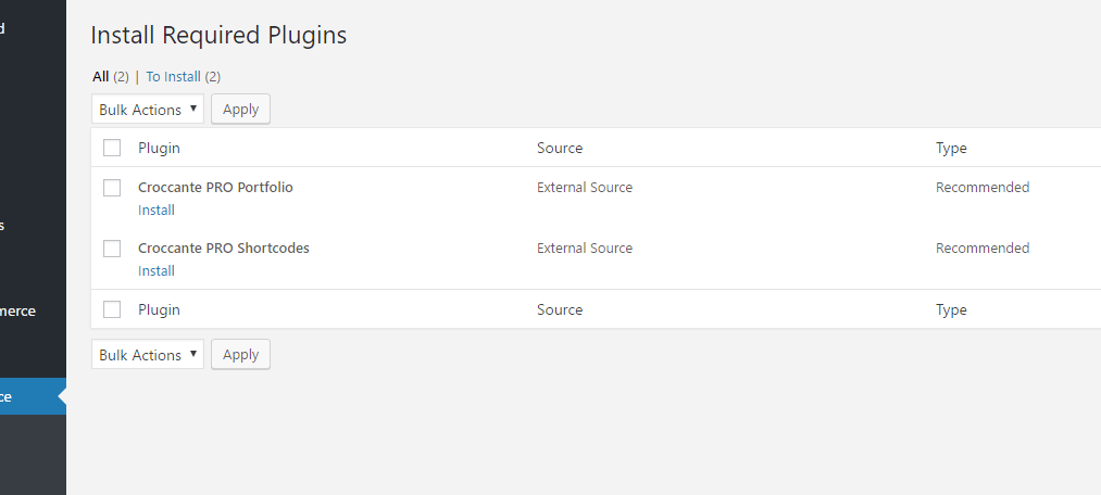 How to set portfolio page - CrestaProject