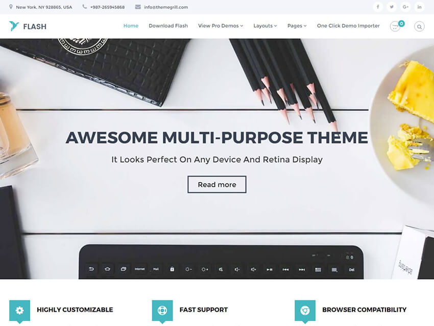 30+ Best Free Responsive WordPress Themes 2019 - CrestaProject