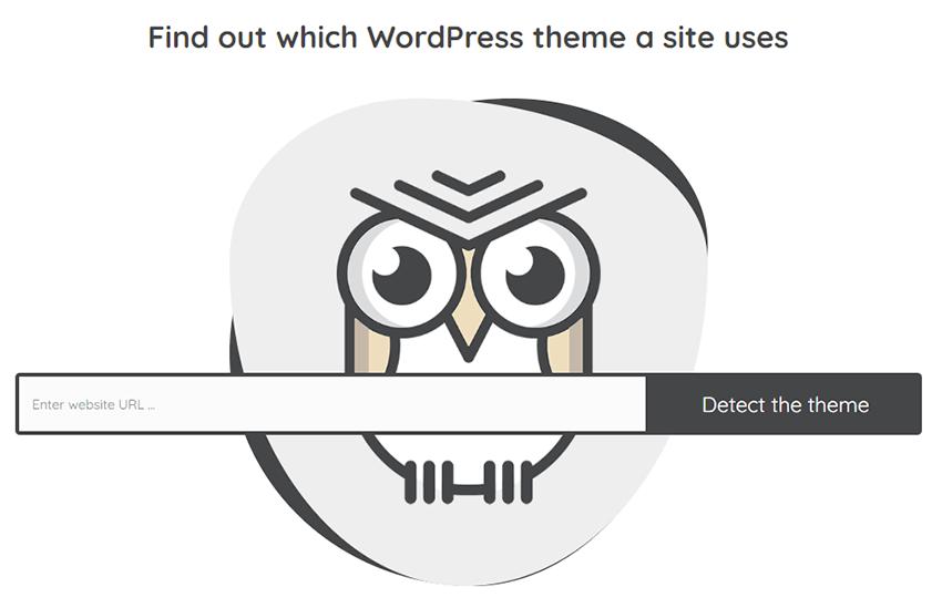 WordPress Theme Detector online