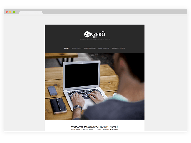 Zenzero WordPress Theme