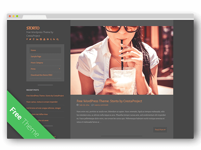 Storto WordPress Theme