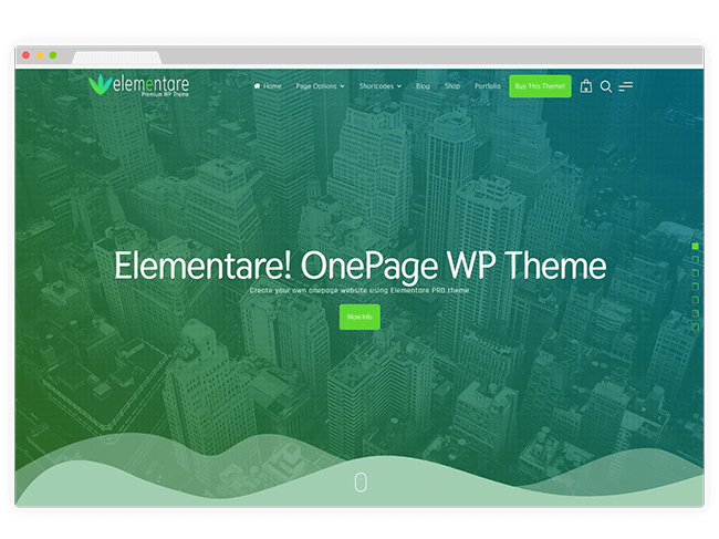 Elementare WordPress Theme